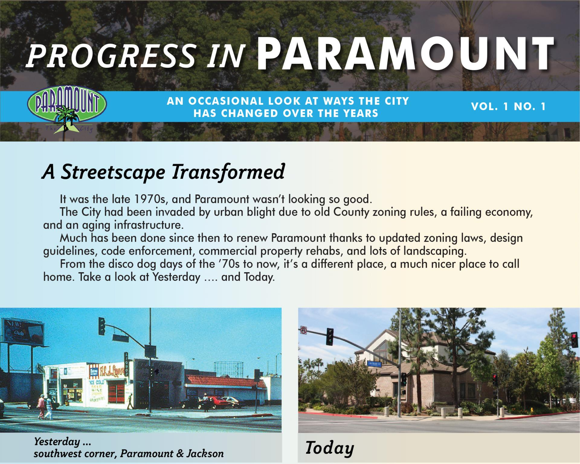 Progress in Paramount