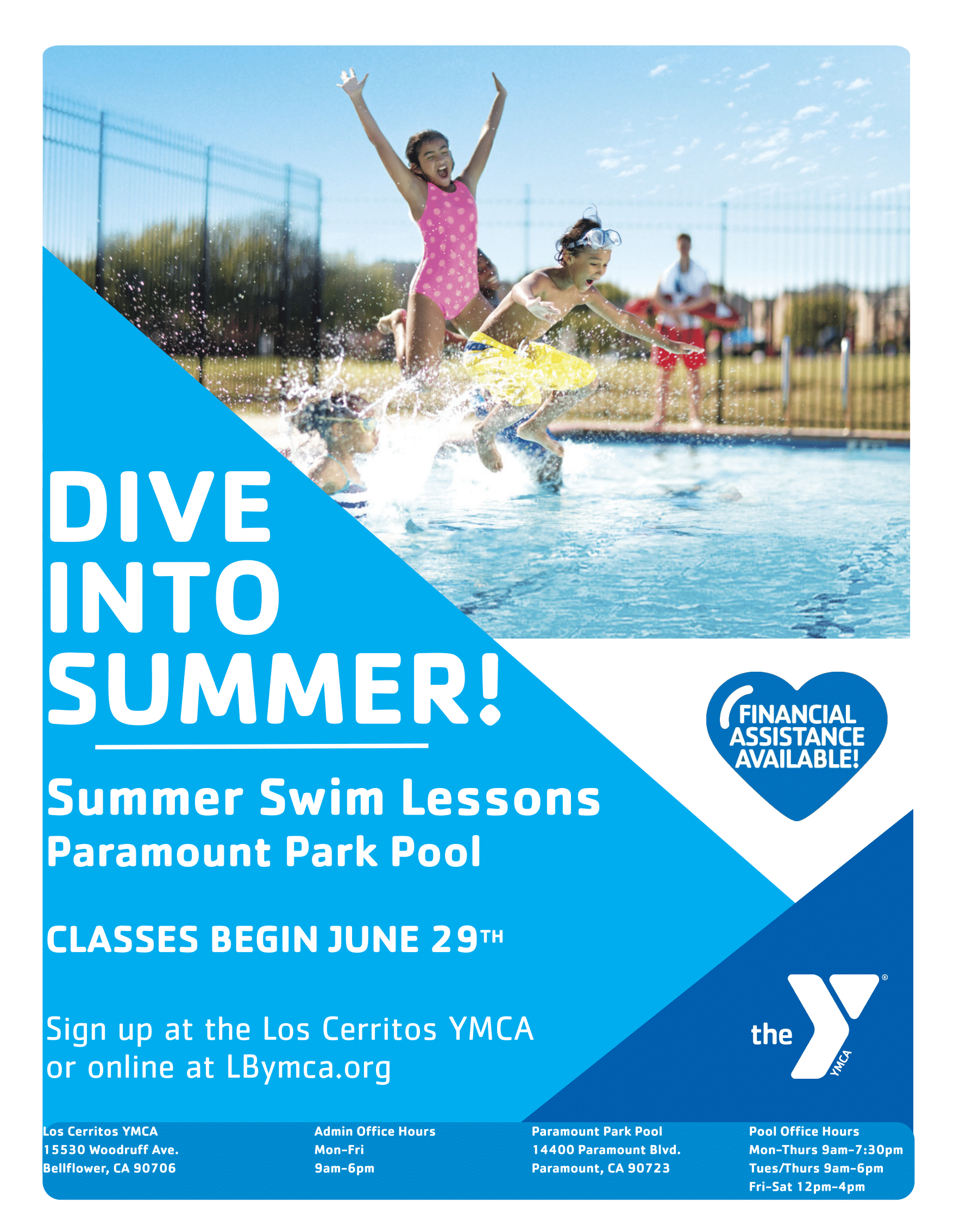 YMCA Summer Swim 2020